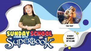 24 January 2021 | Online Sunday School (The Test)